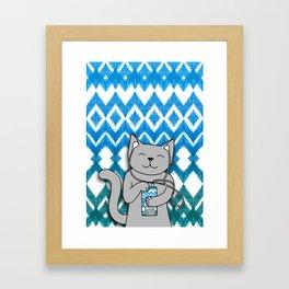 iKat iCat Framed Art Print
