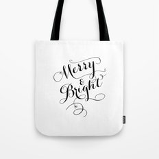 Merry & Bright Tote Bag