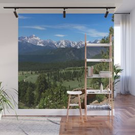 A Glorious Morning In The Rockies Wall Mural