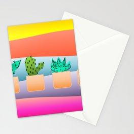 Sunset Cacti Stationery Cards
