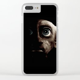 Oscurity Dobby Clear iPhone Case