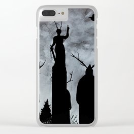 The Cult Clear iPhone Case