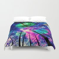 decal Duvet Covers featuring My sky  by haroulita