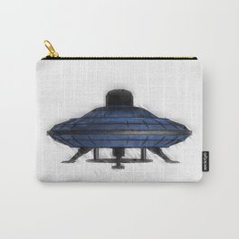 Retro UFO Carry-All Pouch