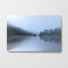 Blue mood Metal Print