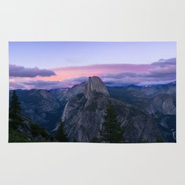 Yosemite National Park at Sunset Rug