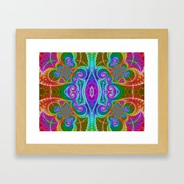 BBQSHOES: Fractal Math Art #1449 Framed Art Print