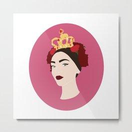 Queen Of Sicily Metal Print