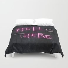 Hell Here Duvet Cover