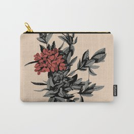 Floral Thyme Carry-All Pouch