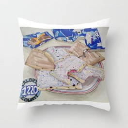 Poptart  Throw Pillow