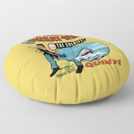 The Amity Great White Floor Pillow