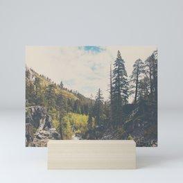 into the wild ...  Mini Art Print