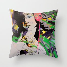 Music is what feelings sound like - II Throw Pillow