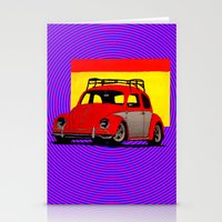volkswagen Stationery Cards featuring VolkSWAGen by Colby Gray