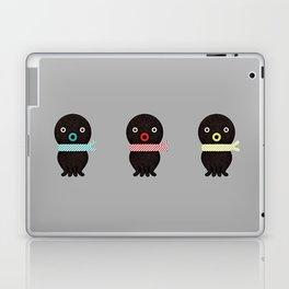 Three octopuses Laptop & iPad Skin