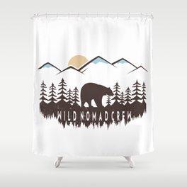 Wild Nomad Crew Shower Curtain