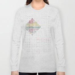 The System - diamond Long Sleeve T-shirt