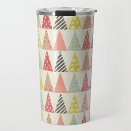 Whimsical Christmas Trees Travel Mug