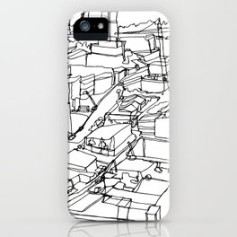 Vancouver, BC :: Single Line iPhone Case