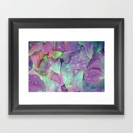 RAIN PETALS Framed Art Print