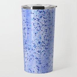 Blue Spray and Flecks Travel Mug