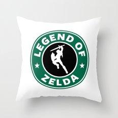Legend Of Zelda Throw Pillow
