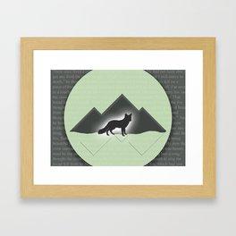 The Story of the Fox Framed Art Print