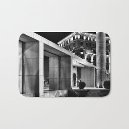 City square by night Bath Mat