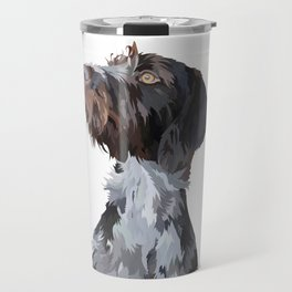 German Wirehaired Pointer Travel Mug