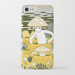 Mushroom Men iPhone Case