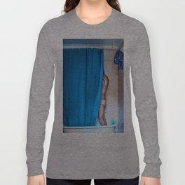 Blue Shower Long Sleeve T-shirt