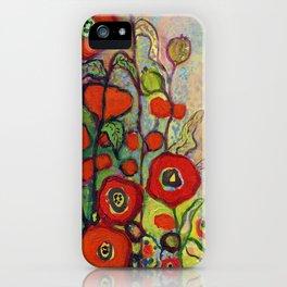 Memories of Grandmother's Garden iPhone Case