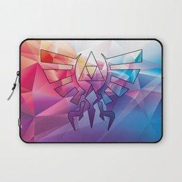 Zelda Triforce colorful Diamond Laptop Sleeve