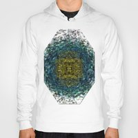 geode Hoodies featuring Geode Abstract 01 by Charma Rose