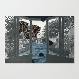Visitor Canvas Print
