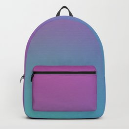 SUPERSTITION FUTURE - Minimal Plain Soft Mood Color Blend Prints Backpack