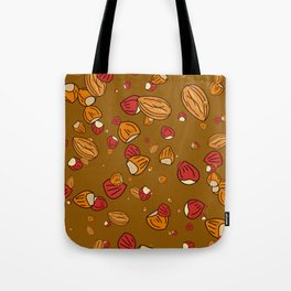Nutty about Nuts Tote Bag