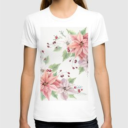 Poinsettia 2 T-shirt