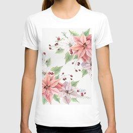 Poinsettia 2 T-shirt