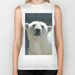 Awesome Polar Baer Biker Tank