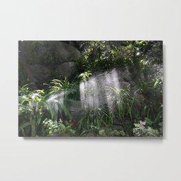 Garden watering Metal Print
