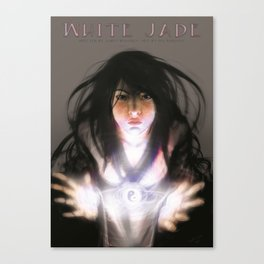White Jade Comic Book Cover Issue #1 Canvas Print