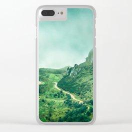 Picos de Europa Clear iPhone Case