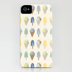 ice cream pattern  iPhone (4, 4s) Slim Case