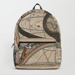 Keller's Harmonia Macrocosmica - Scenography of Ptolemaic Cosmography 1661 Backpack