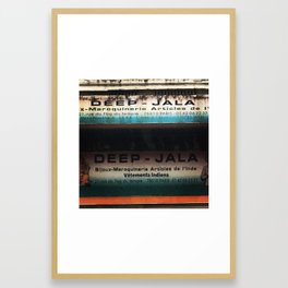 DEEP JALA Framed Art Print
