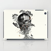 bird iPad Cases featuring Lost Translation by nicebleed