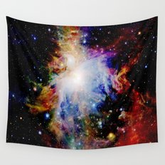 GaLaXY : Orion Nebula Dark & Colorful Wall Tapestry