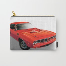 Red American muscle car Carry-All Pouch
